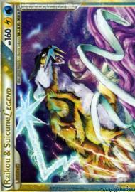 Raikou & Suicune LEGEND (top) (HGSS Unleashed: 92/95)