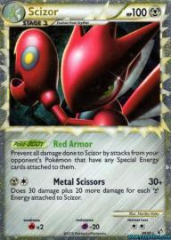 Scizor (Prime) (HGSS Undaunted: 84/90)