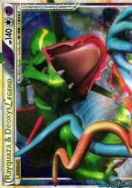 Rayquaza & Deoxys LEGEND (top) (HGSS Undaunted: 89/90)