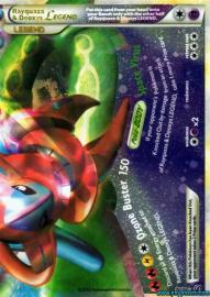 Rayquaza & Deoxys LEGEND (bottom) (HGSS Undaunted: 90/90)