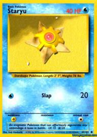 Staryu (Base Set: 65/102)