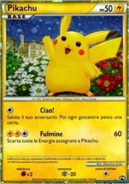 Pikachu (Italian) (Pikachu World: 2/9)