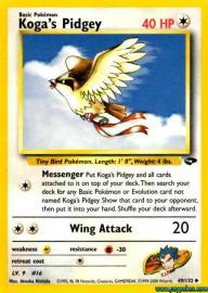 Koga's Pidgey (Gym Challenge: 49/132)