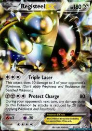 Registeel EX (Dragons Exalted: 81/124)