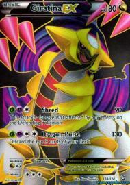 Giratina EX (Full Art) (Dragons Exalted: 124/124)