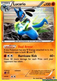 Lucario (DP Trainer Kit: 3/11)