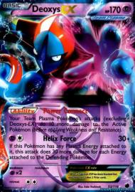 Deoxys EX (Plasma Freeze: 53/116)