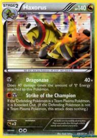 Haxorus (Plasma Blast: 69/101)