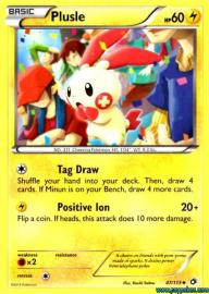 Plusle (Legendary Treasures: 47/113)