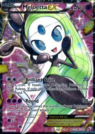 Meloetta EX (Legendary Treasures: RC25/RC25)