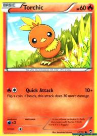 Torchic (Furious Fists: 12/111)