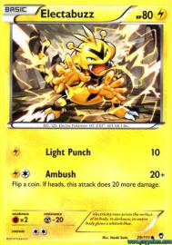 Electabuzz (Furious Fists: 29/111)