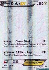 Dialga EX (Full Art) (Phantom Forces: 122/119)
