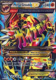 Primal Groudon EX (Full Art) (Primal Clash: 151/164)