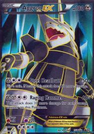 Aggron EX (Full Art) (Primal Clash: 153/164)
