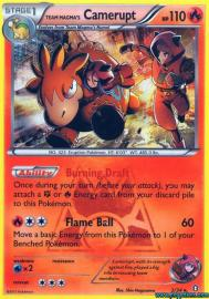 Team Magma's Camerupt (Double Crisis: 2/34)