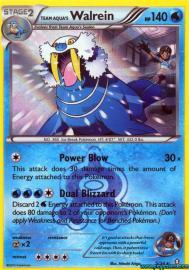 Team Aqua's Walrein (Double Crisis: 5/34)