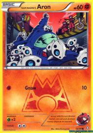 Team Magma's Aron (Double Crisis: 12/34)