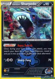Team Aqua's Sharpedo (Double Crisis: 21/34)