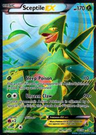 Sceptile EX (Full Art) (Ancient Origins: 84/98)