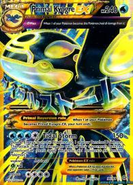 Primal Kyogre EX (Shiny Full Art) (Ancient Origins: 96/98)
