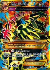 Primal Groudon EX (Shiny Full Art) (Ancient Origins: 97/98)
