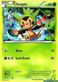 Chespin (BREAKthrough: 8/162)