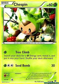 Chespin (BREAKthrough: 9/162)